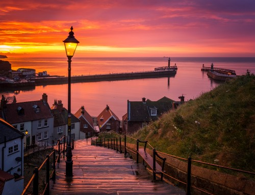 The 199 Steps At Whitby- Photographs And Information