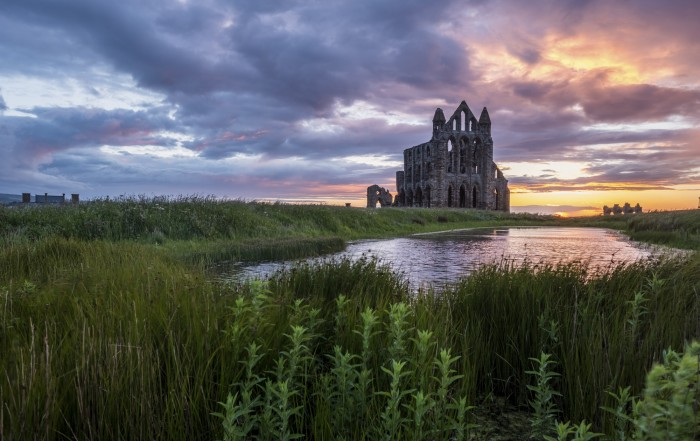 Whitby Placemats - Abbey Sunset