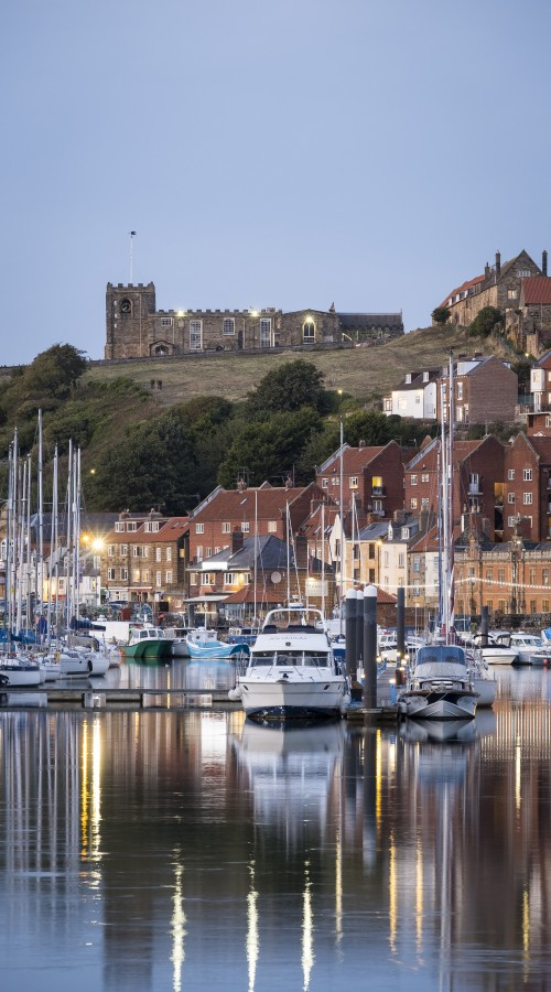Phone Case - Whitby Harbour With St Mary's Reflections