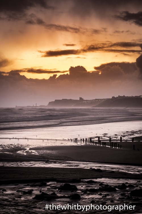 Sandsend Village Winter Sunrise