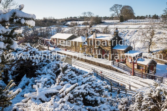 Goathland Station With Heavy Snow - Landscape Image