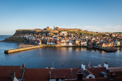 Whitby Harbour Afternoon Light