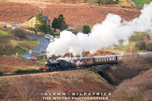 North York Moors Railway Canvas Offer