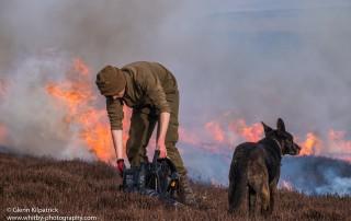 North York Moors Heather Burning. (1 of 1)-5