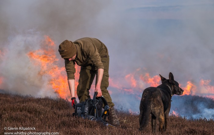 North York Moors Heather Burning. (1 of 1)-5
