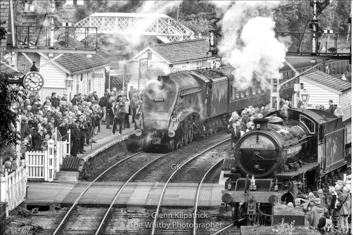 The Union Of South Africa At Grosmont Station - North Yorkshire Moors Railway