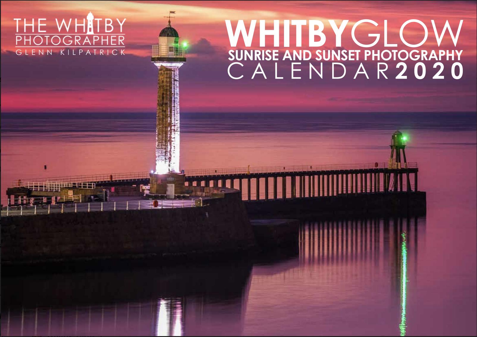 Sunset 2020 Calendar Whitby Glow Calendar 2020   Sunrise And Sunset Photography Of