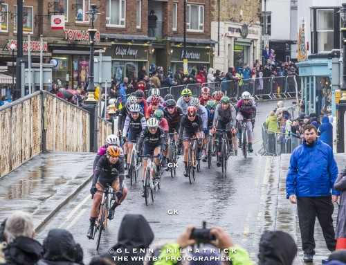 The Womens (Ladies) Tour De Yorkshire 2019 – Whitby North Yorkshire.