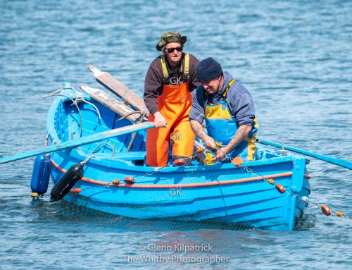 Salmon Fishing Off Sandsend Beach – T and J Fixed Net Fishing.