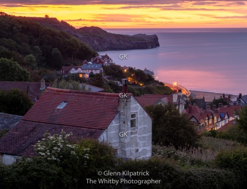 Sandsend Sunset – The Calm Before The Storm