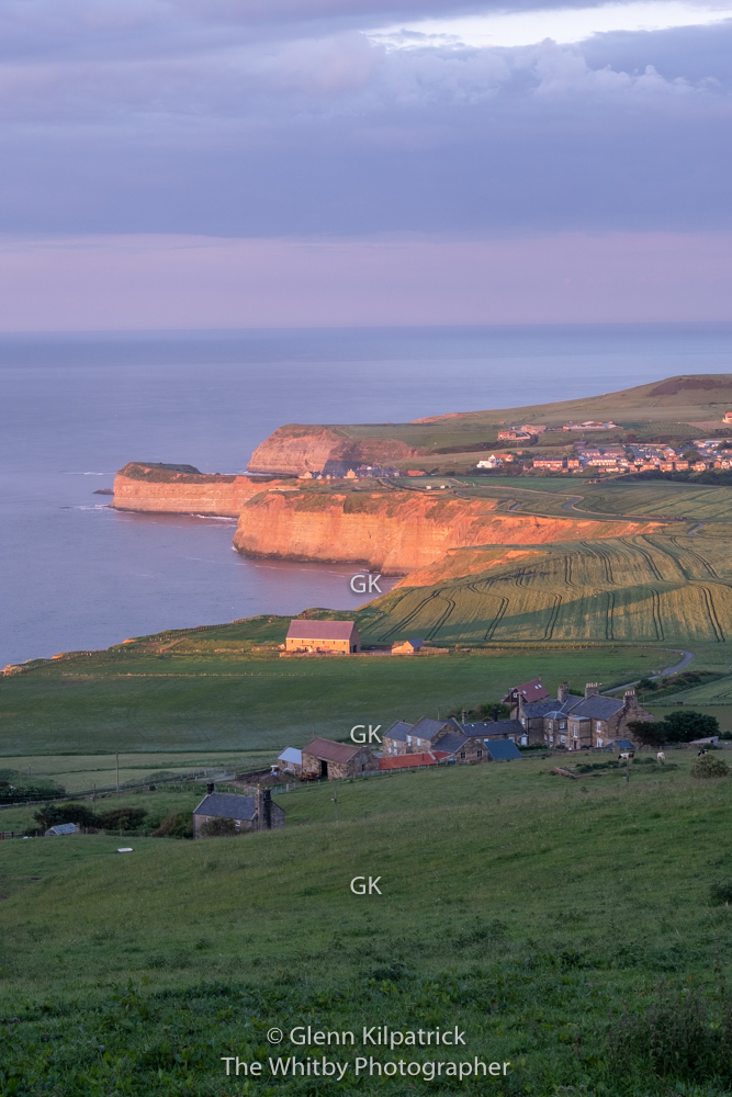 Staithes From Boulby Cliffs