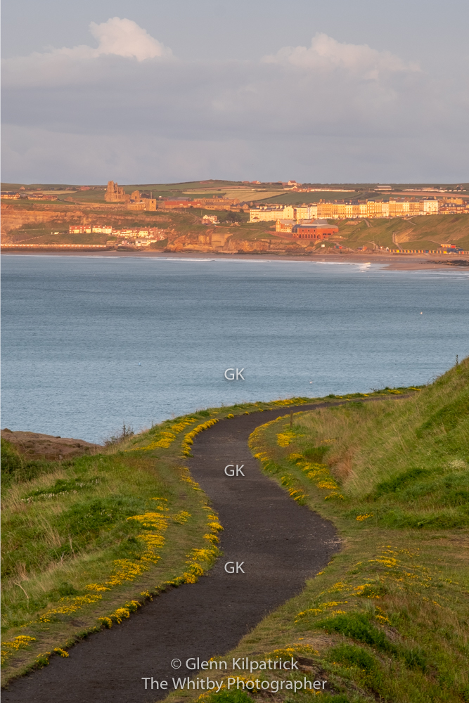 Whitby From Sandsend Cliffs