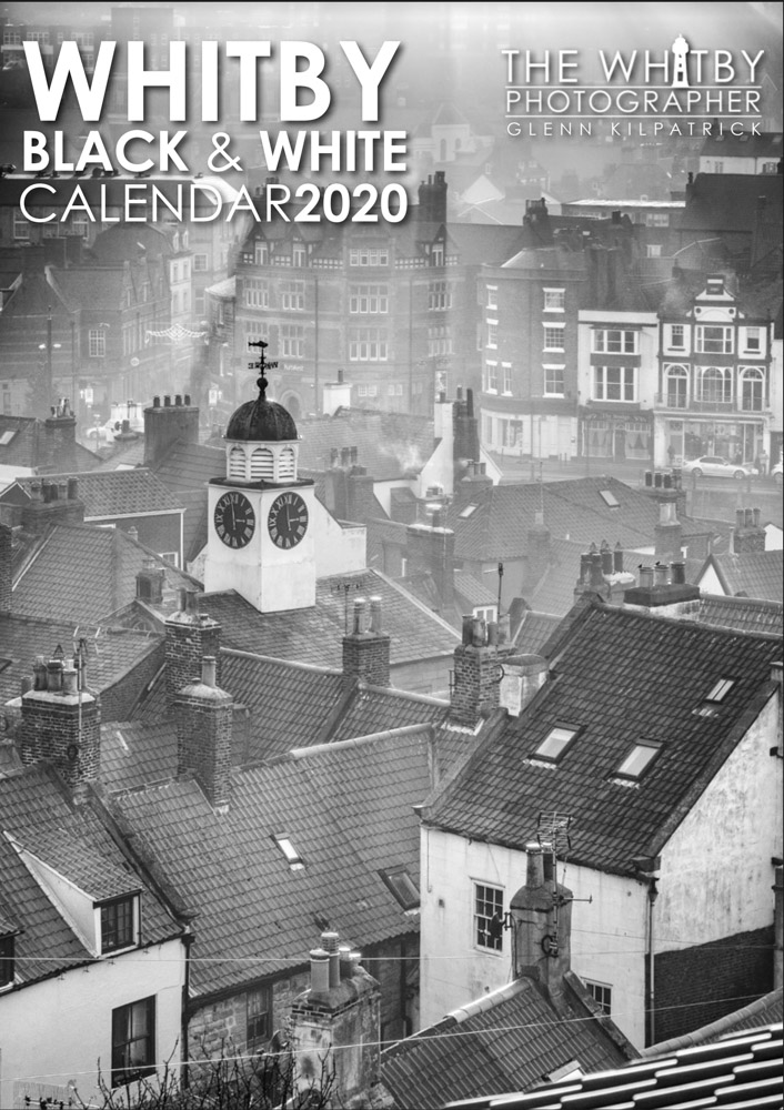 Whitby Black And White Calendar 2020