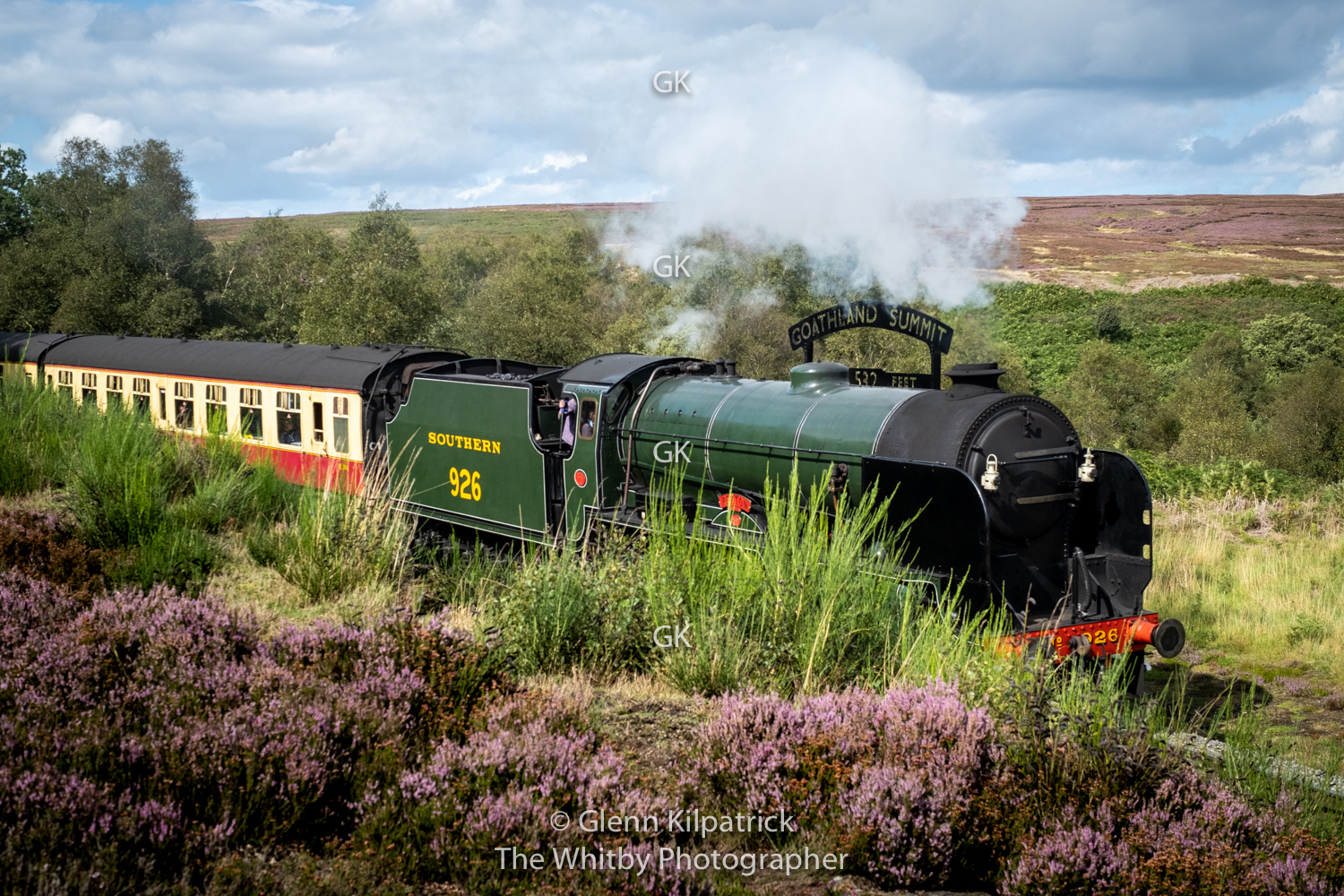 Repton - North Yorkshire Moors Railway - Fenn Bogs Goathland Summit