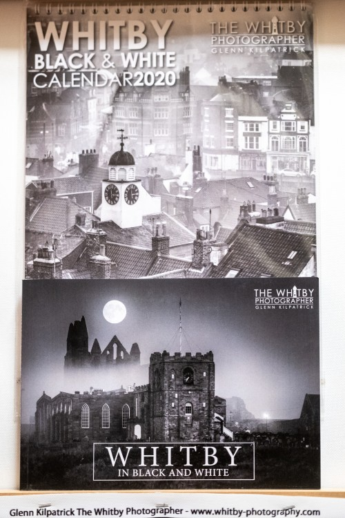 Whitby In Black and White - Book And Calendar offer.