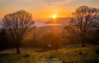 Sunrise At Robin Hoods Bay - Glenn Kilpatrick, The Whitby Photographer