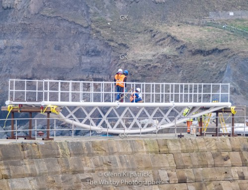Whitby East Pier Bridge – 20 Years In The Making.