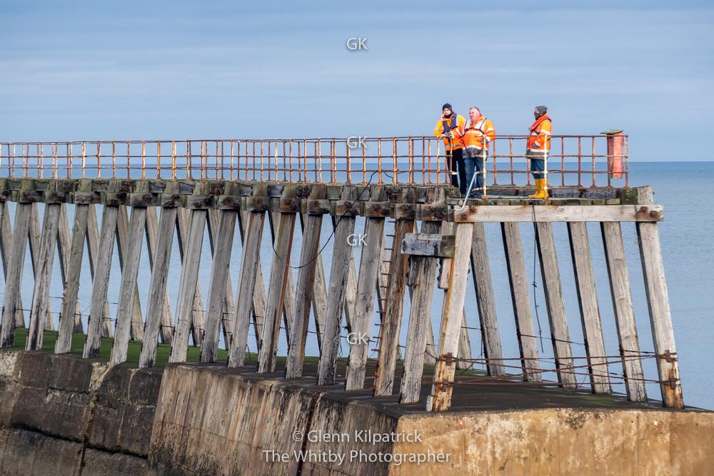 Whitby East Pier Bridge