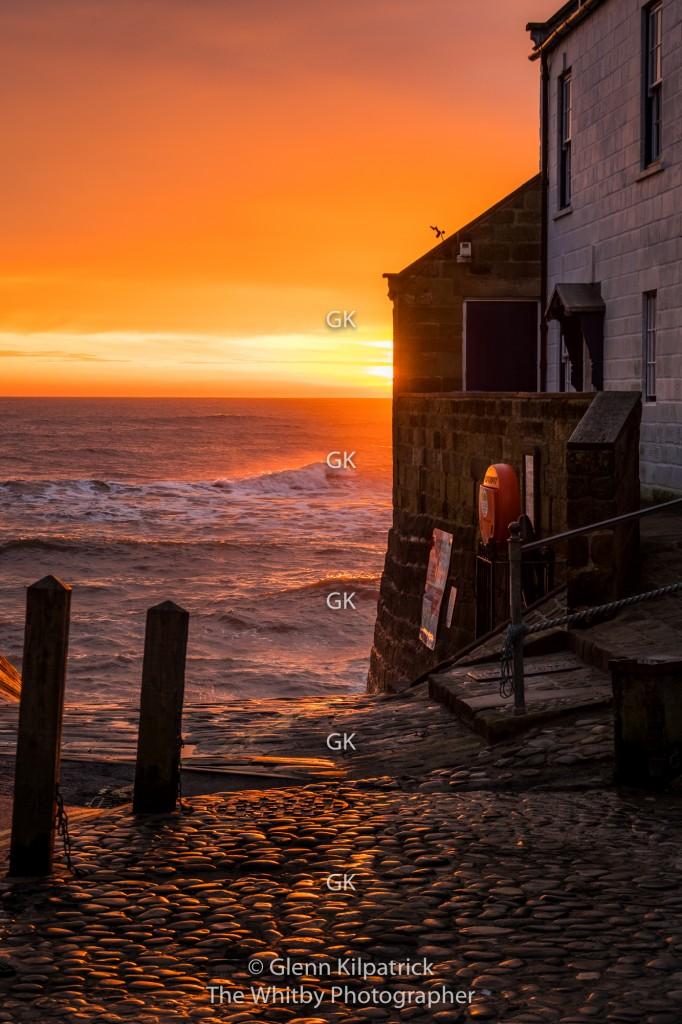 Robin Hoods Bay Sunrise February 2020