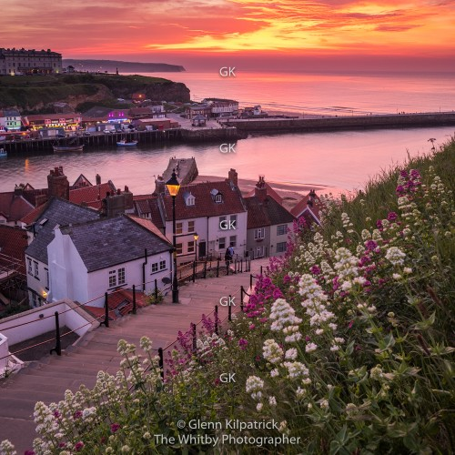 Four Whitby Coasters - 199 Steps